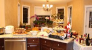 Christmas at the Liu's – MMMM, look at all the delicious food!!