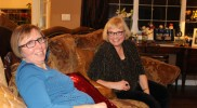 Colleen & Judi – Long time co-workers and friends enjoying the holidays