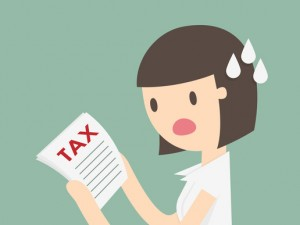 Woman Receiving a CRA Letter About Back Taxes