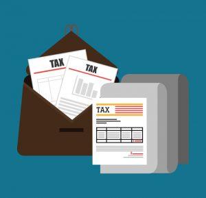 tax preparation concept