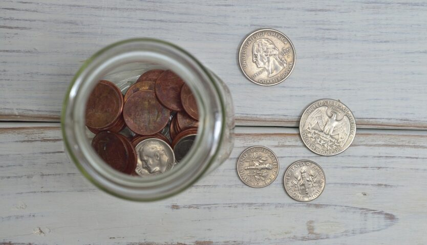 american-coins-sitting-in-a-jar